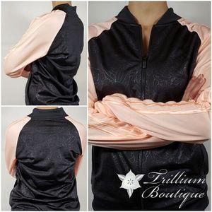 NWT! ADIDAS Ladies Embossed Track Jacket